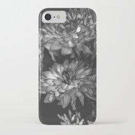 Monochrome Floral iPhone Case