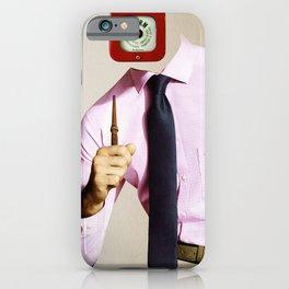 Business Man Alarm iPhone Case
