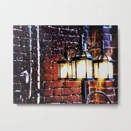 Stone Light Metal Print