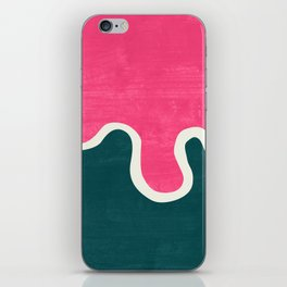 London Abstract Pink iPhone Skin