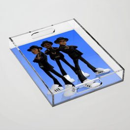 Tougher Than Leather Acrylic Tray