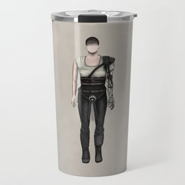 Furiosa without a face (MadMax) Travel Mug