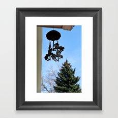 Chimes Framed Art Print