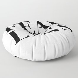 Fearless Floor Pillow