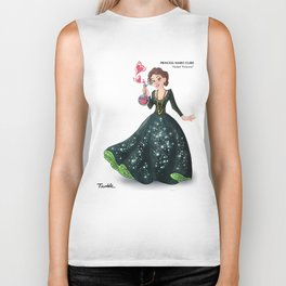 Princess Marie Curie (Trumble Cartoon) Biker Tank