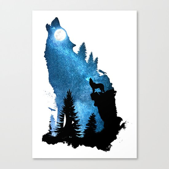 The Howling Wind Canvas Print