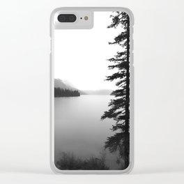 Maligne Lake Alberta Clear iPhone Case