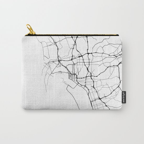 Minimal City Maps - Map Of San Diego, California, United States by valsymot