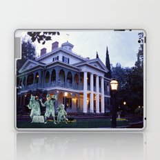 Haunted Mansion and Hitchhikers Laptop & iPad Skin