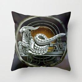 """Astrological Mechanism - Capricornus"" Throw Pillow"