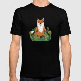 Fox Yoga T-shirt