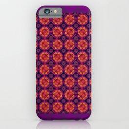 FerrisWheel Purple iPhone Case