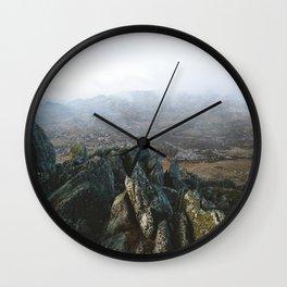 Misty Rams Head II Wall Clock