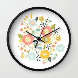 Airy GardenPillow Wall Clock