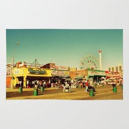 Coney Island luna park, New York Rug