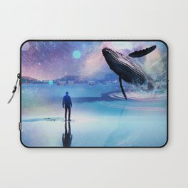 Walking with Whales Laptop Sleeve