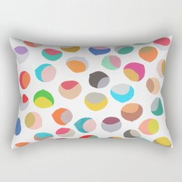 painted chestnuts 1 Rectangular Pillow