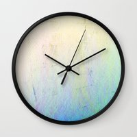 fifth element Wall Clocks featuring Fifth turn by dabnocti