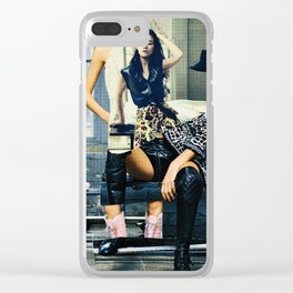 Confident Clear iPhone Case