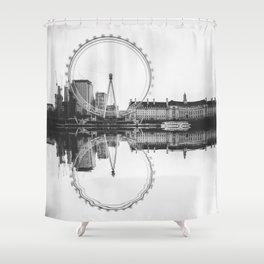 Amazing London Eye Shower Curtain