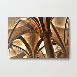 Cathedral Ceiling Metal Print