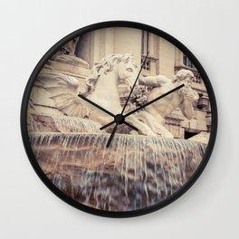 Fontana Di Trevi, Rome - Italy Wall Clock