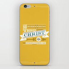 Philippians 4:13 iPhone & iPod Skin
