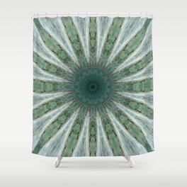 Spring Kaleidoscope Shower Curtain