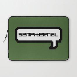 Sempiternal - Green Laptop Sleeve
