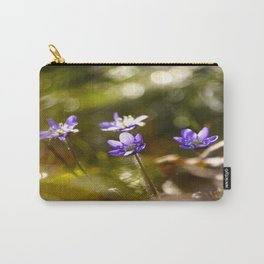 Beautiful Surprise In Spring Forest Carry-All Pouch