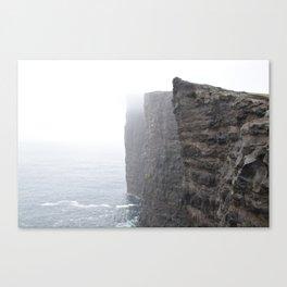 Cliffs of the Faroe Islands Canvas Print