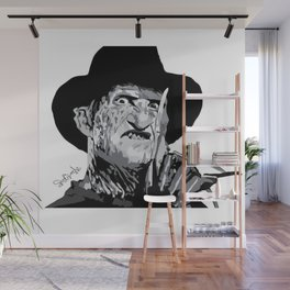 Freddie Krueger Wall Mural