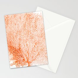 """""""Sea Fan Coral""""  Stationery Cards"""