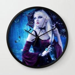 Nymphalidae Wall Clock