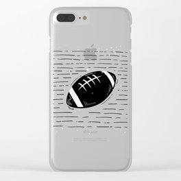 Super Bowl Day Clear iPhone Case