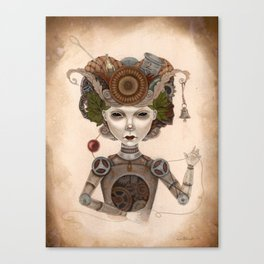 #8 Canvas Print