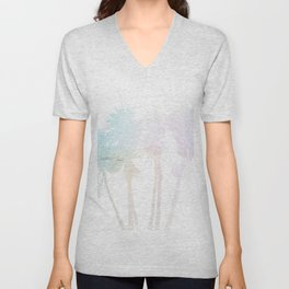 Where the sea sings to the trees - 8 Unisex V-Neck