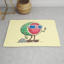 Watermelon Skater Rug