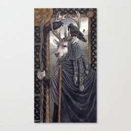 One-Eyed Canvas Print