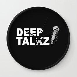 Deep Talkz Wall Clock