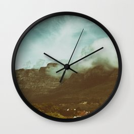 Over the Mountain Wall Clock