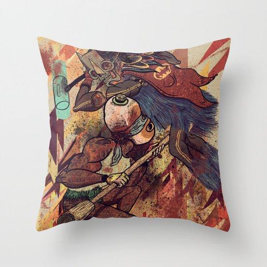 Pancanacerta Throw Pillow