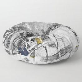 Daguerre In Time! Floor Pillow