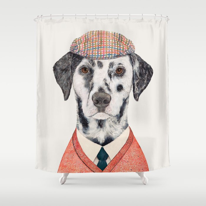 Dalmatian Shower Curtain By Animalcrew