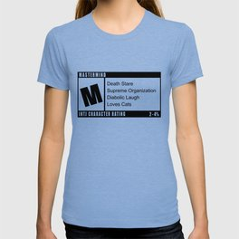 M is for INTJ Mastermind Introvert Rating T-shirt