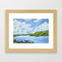 Keuka Lake Framed Art Print