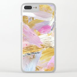 Sadie Abstract Clear iPhone Case
