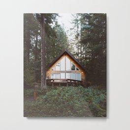 Cushman Cabin | Pt. 1 Metal Print