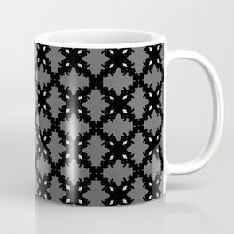 Carbon Silver Coffee Mug