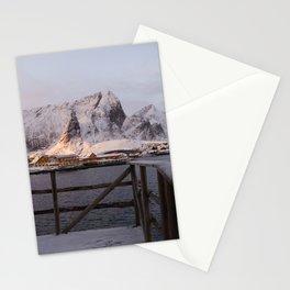 Morning in Lofoten Stationery Cards